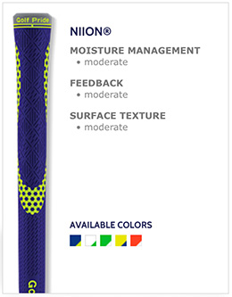 Golf Pride Niion Golf Grips
