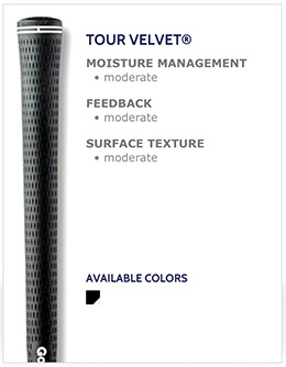 Golf Pride Tour Velvet Golf Grips