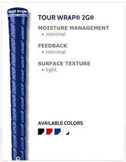 Golf Pride Tour Wrap 2G Golf Grips