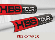 KBS C-Taper Lite Golf Shafts