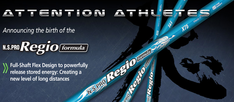 N.S Pro Regio Formula Golf Shafts