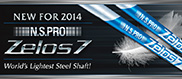 NS Pro Zelos 7 Golf Shafts